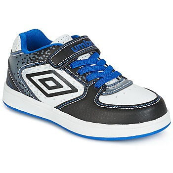 Shoes Boy Low top trainers Umbro DOGAN VLC White / Blue