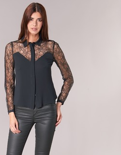 Clothing Women Shirts Morgan RESTY Black