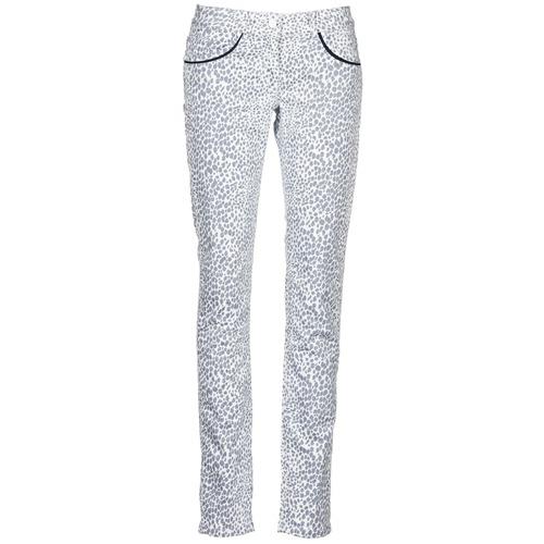 Clothing Women 5-pocket trousers Kookaï FEMIE Beige / Black