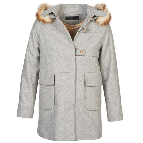 Clothing Women coats Kookaï ALEXI Grey