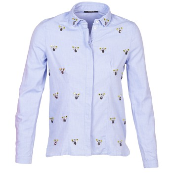 Clothing Women Shirts Kookaï MAYA Blue