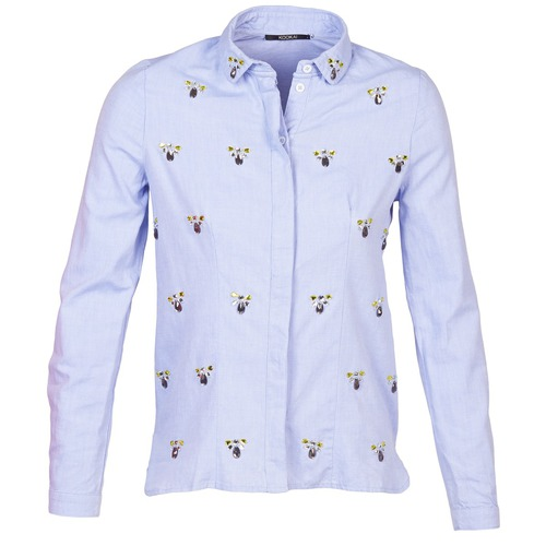 Clothing Women Shirts Kookaï MAYA Blue