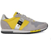Shoes Men Low top trainers Blauer RUN LOW Giallo