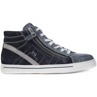 Shoes Boy Hi top trainers Nero Giardini NERO GIARDINI BRANDON JEANS Blu