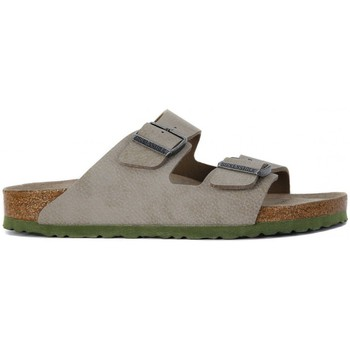 Shoes Women Mules Birkenstock ARIZONA SFB Beige
