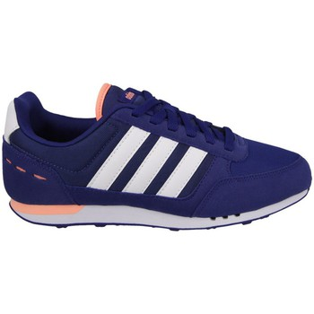 adidas  City Racer W  womens Shoes (Trainers) in Blue