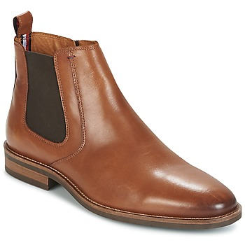 Shoes Men Mid boots Tommy Hilfiger DAYTONA 4A COGNAC