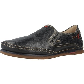 Shoes Men Loafers Fluchos 7580 Black