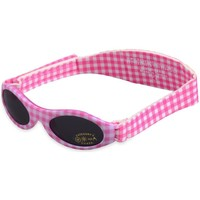 Watches Girl Sunglasses Baby Banz Adventure Sunglasses - Pink Check Pink