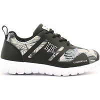 Shoes Children Fitness / Training Lumberjack SB07505 002 N46 Sport shoes Kid Black Black