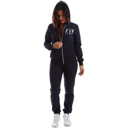 Clothing Women Jumpsuits / Dungarees Key Up TS40 0001 Tuta Women Blue Blue