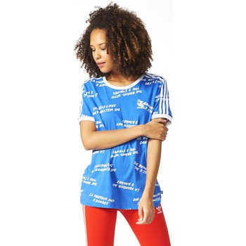adidas  BJ8286 Tshirt Women  womens T shirt in blue