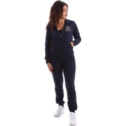Clothing Women Jumpsuits / Dungarees Key Up TS30 0001 Tuta Women Blue Blue