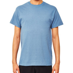 Clothing Men short-sleeved t-shirts The Idle Man Classic T-Shirt Blue