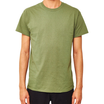 Clothing Men short-sleeved t-shirts The Idle Man Classic T-Shirt Green