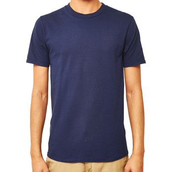 Clothing Men short-sleeved t-shirts The Idle Man Premium Classic T-Shirt Navy