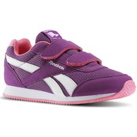 Shoes Children Low top trainers Reebok Sport Royal Cljog Auberginesolar Pink White-Violet