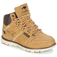 Shoes Boy Mid boots Kangaroos BLUERUN 2098 Honey