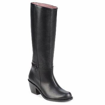 Shoes Women High boots Robert Clergerie ALCOR Black
