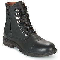 Shoes Men Mid boots Selected TREVOR Black