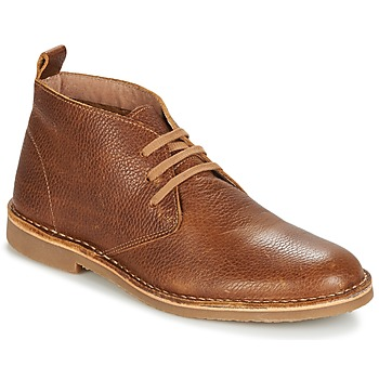 Shoes Men Mid boots Selected ROYCE CHUKKALA COGNAC