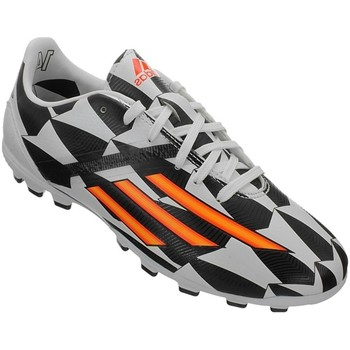 Shoes Children Football shoes adidas Originals F10 AG J World Cup Black-White