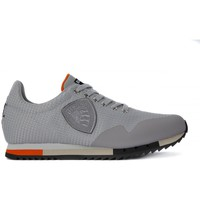 Shoes Men Low top trainers Blauer NEW RUN MESH SILVER Argento