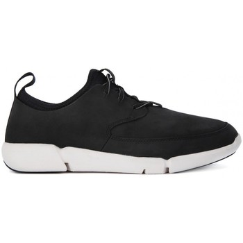 Shoes Men Low top trainers Clarks TRIFLOW FORM Nero