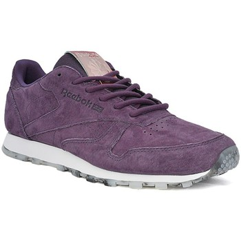 Shoes Women Low top trainers Reebok Sport Classic Leather Shmr Violet