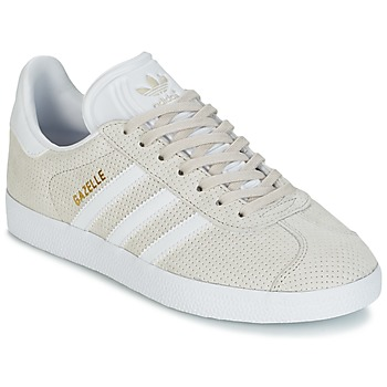 Shoes Women Low top trainers adidas Originals GAZELLE W Brown / Clear