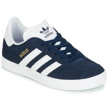 finest selection 8bd29 31e20 adidas Originals Gazelle C Marine - Free delivery with Spartoo UK ! - Shoes  Low top trainers Child £ 39.19