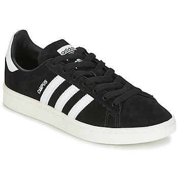 Shoes Low top trainers adidas Originals CAMPUS Black