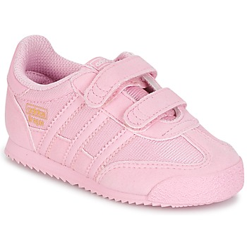 Shoes Girl Low top trainers adidas Originals DRAGON OG CF C Pink