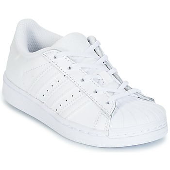 adidas  SUPERTSAR  girlss Childrens Shoes (Trainers) in white