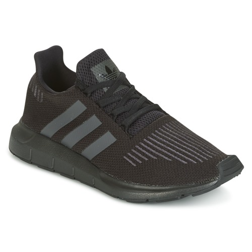 Shoes Children Low top trainers adidas Originals SWIFT RUN J Black