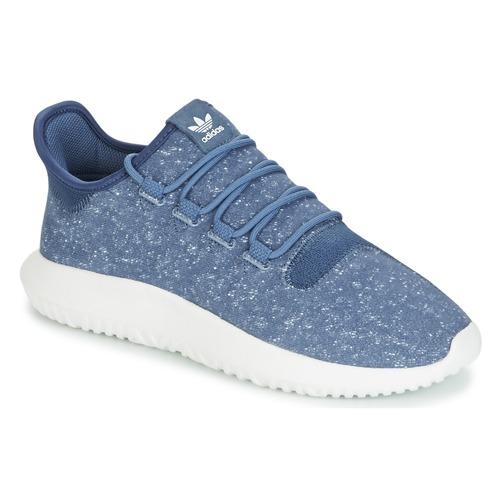 Shoes Men Low top trainers adidas Originals TUBULAR SHADOW Blue