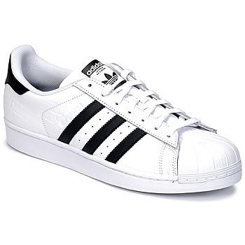 adidas SUPERSTAR men's Shoes (Trainers) in White