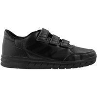 Shoes Children Low top trainers adidas Originals Alta Sport CF K Black