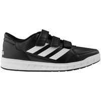 Shoes Children Low top trainers adidas Originals Alta Sport CF K Black-White