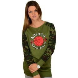 Clothing Women jumpers adidas Originals Bball Dress Green