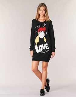 Clothing Women Short Dresses Love Moschino WS45S01X0608 Black