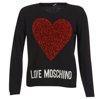 Clothing Women jumpers Love Moschino WS89G01X0683 Black