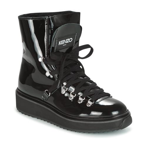Shoes Women Snow boots Kenzo ALASKA Black