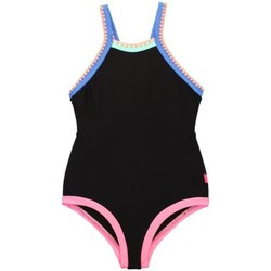 Clothing Girl Swimsuits Seafolly 1 Piece Black Kids Swimsuit Festival Surf BLACK
