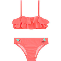 Clothing Girl Bikinis Seafolly 2 Pieces Pink Kids Swimsuit Touci Frutti PINK
