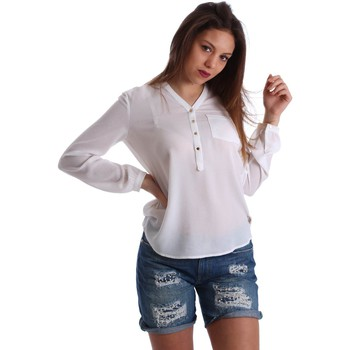 Clothing Women short-sleeved t-shirts Gaudì Jeans 73BD47201 Blusa Women White White