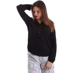 Clothing Women short-sleeved t-shirts Gaudì Jeans 73BD47201 Blusa Women Black Black