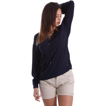 Clothing Women short-sleeved t-shirts Gaudì Jeans 73BD47209 Blusa Women Blue Blue