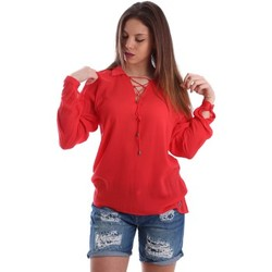 Clothing Women short-sleeved t-shirts Gaudì Jeans 73BD47209 Blusa Women Red Red