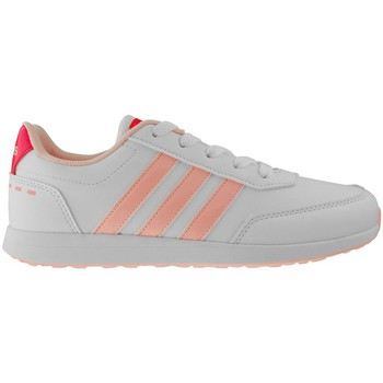 Shoes Children Low top trainers adidas Originals Switch VS K White